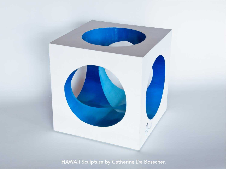 Sculpture HAWAII  by Catherine De Bosscher