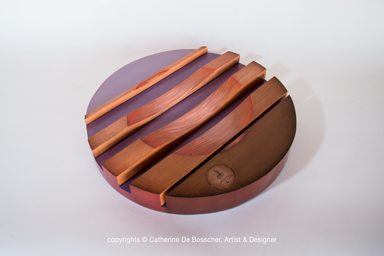 "Sculptural Bowl ""Aube"" by Catherine De Bosscher"