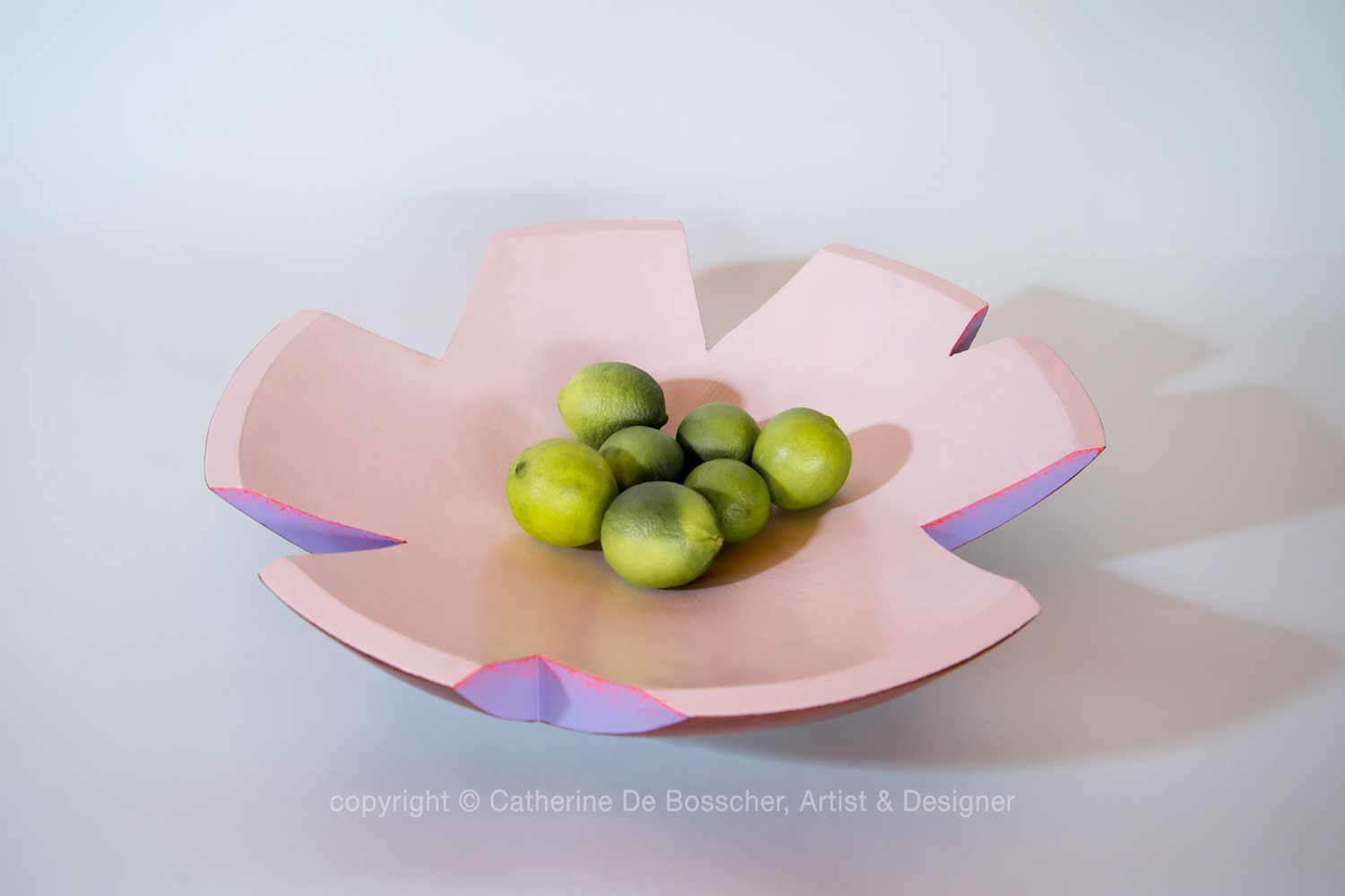 "Sculptural Bowl ""Flore"" by Catherine De Bosscher"