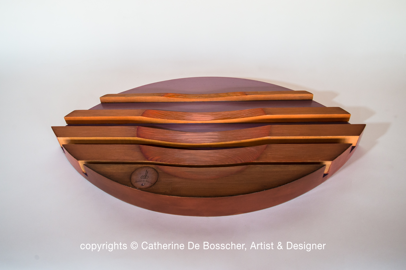 "Sculptural Bowl ""Flux"" by Catherine De Bosscher"