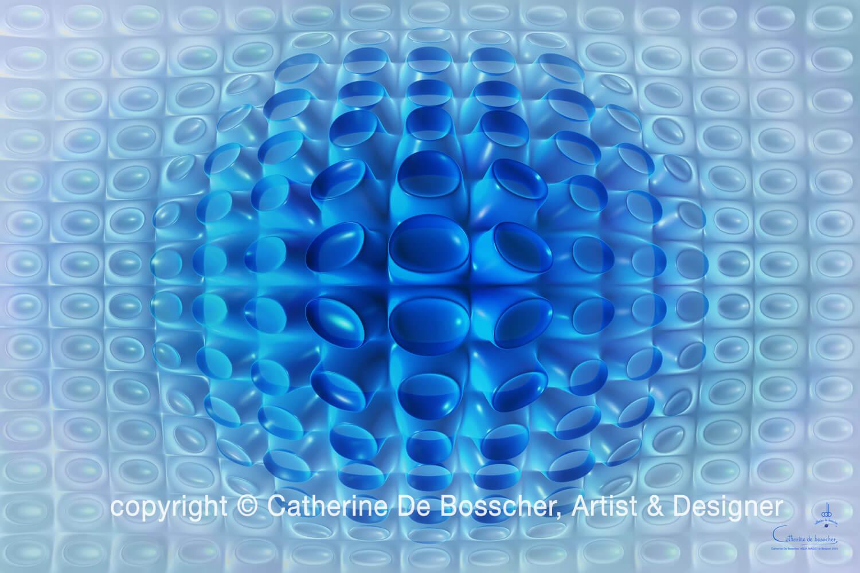 """Aqua Magic 1"" by Catherine De Bosscher"