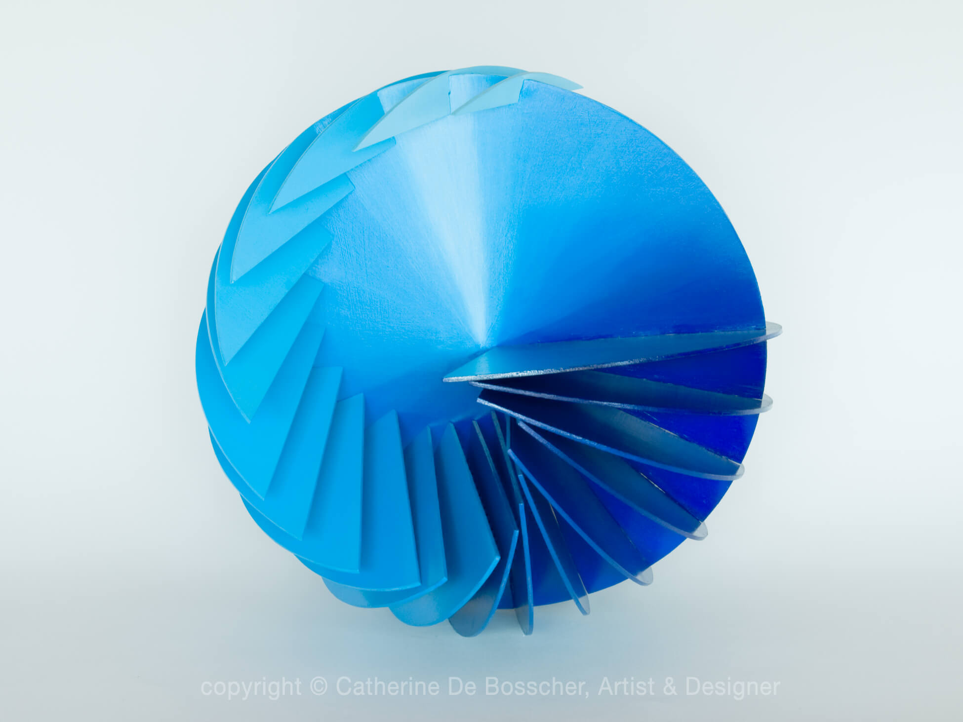 """SPHERICAL WAVE ""  - 40 cm / 15.7 inch"