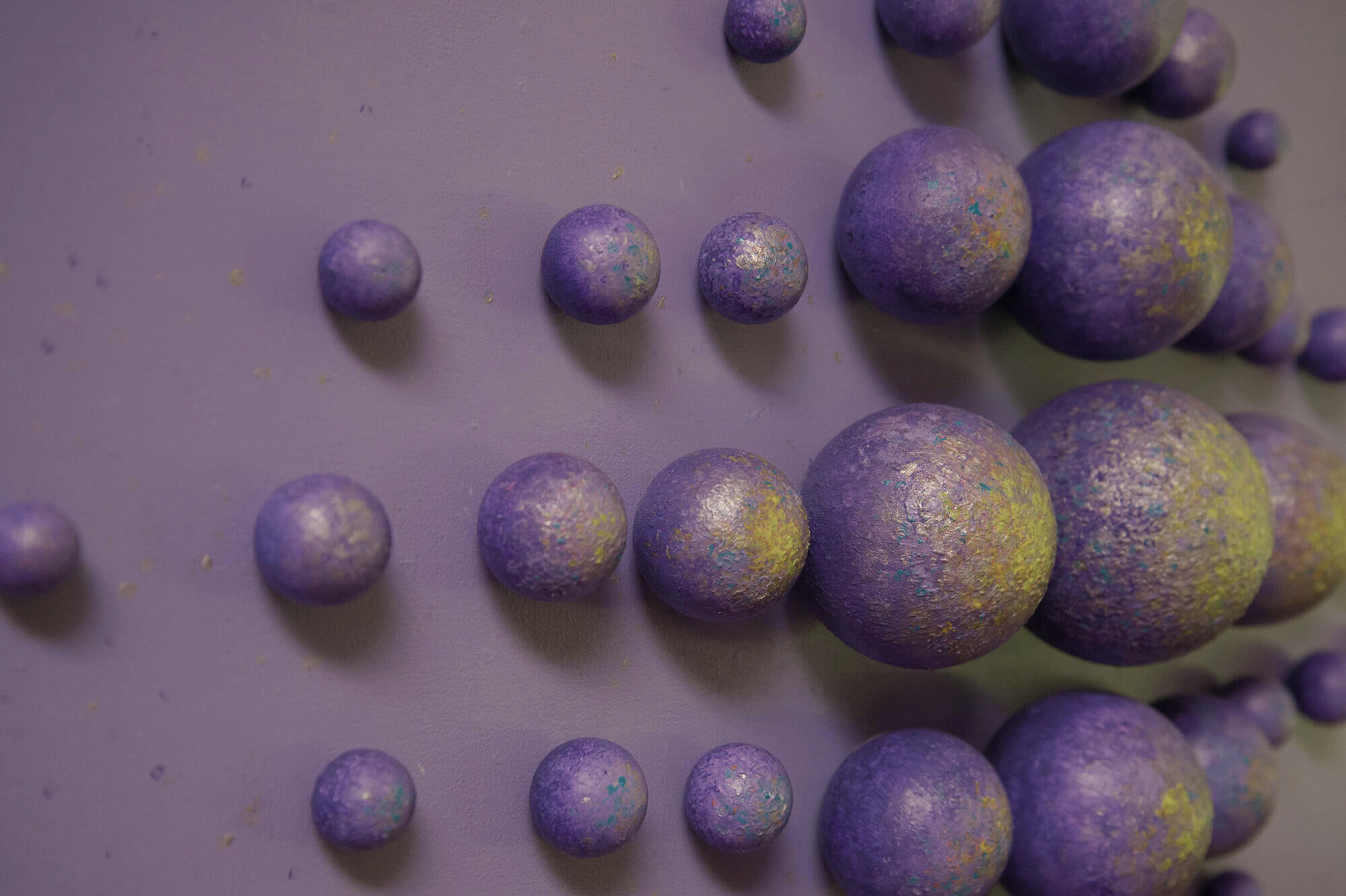 "Detail of ""Purple Expansion"""