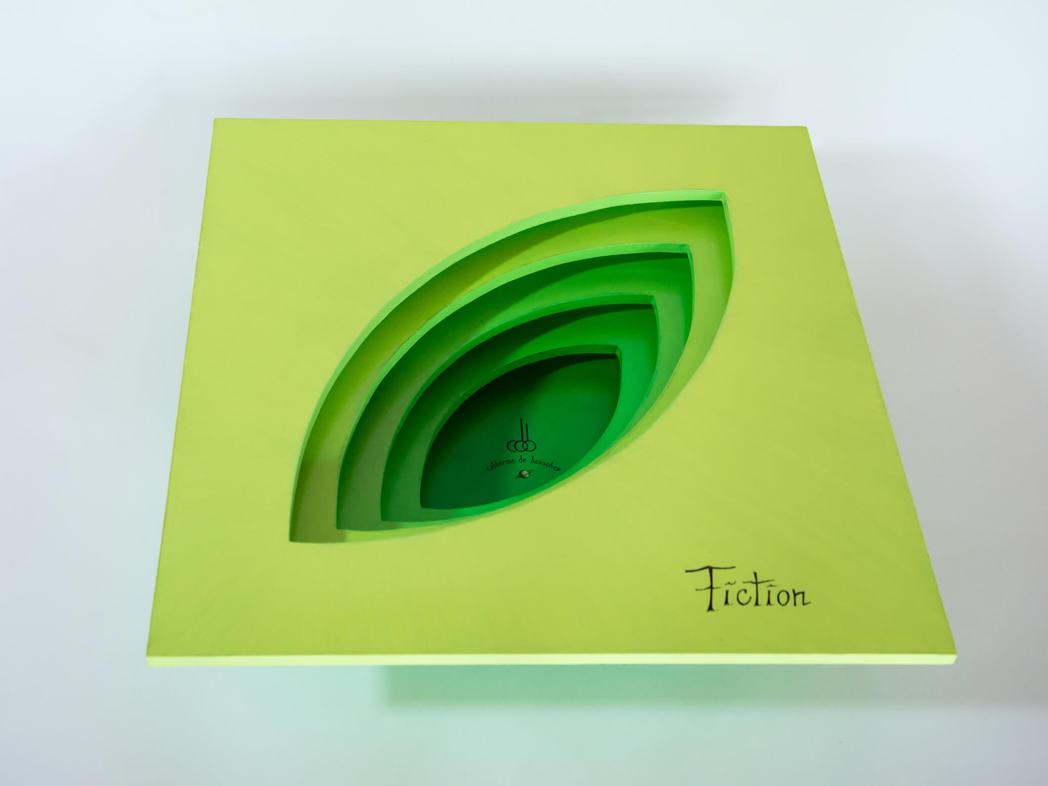 Sculptural Bowl 'Fiction' 42 cm/ 16.5 inch