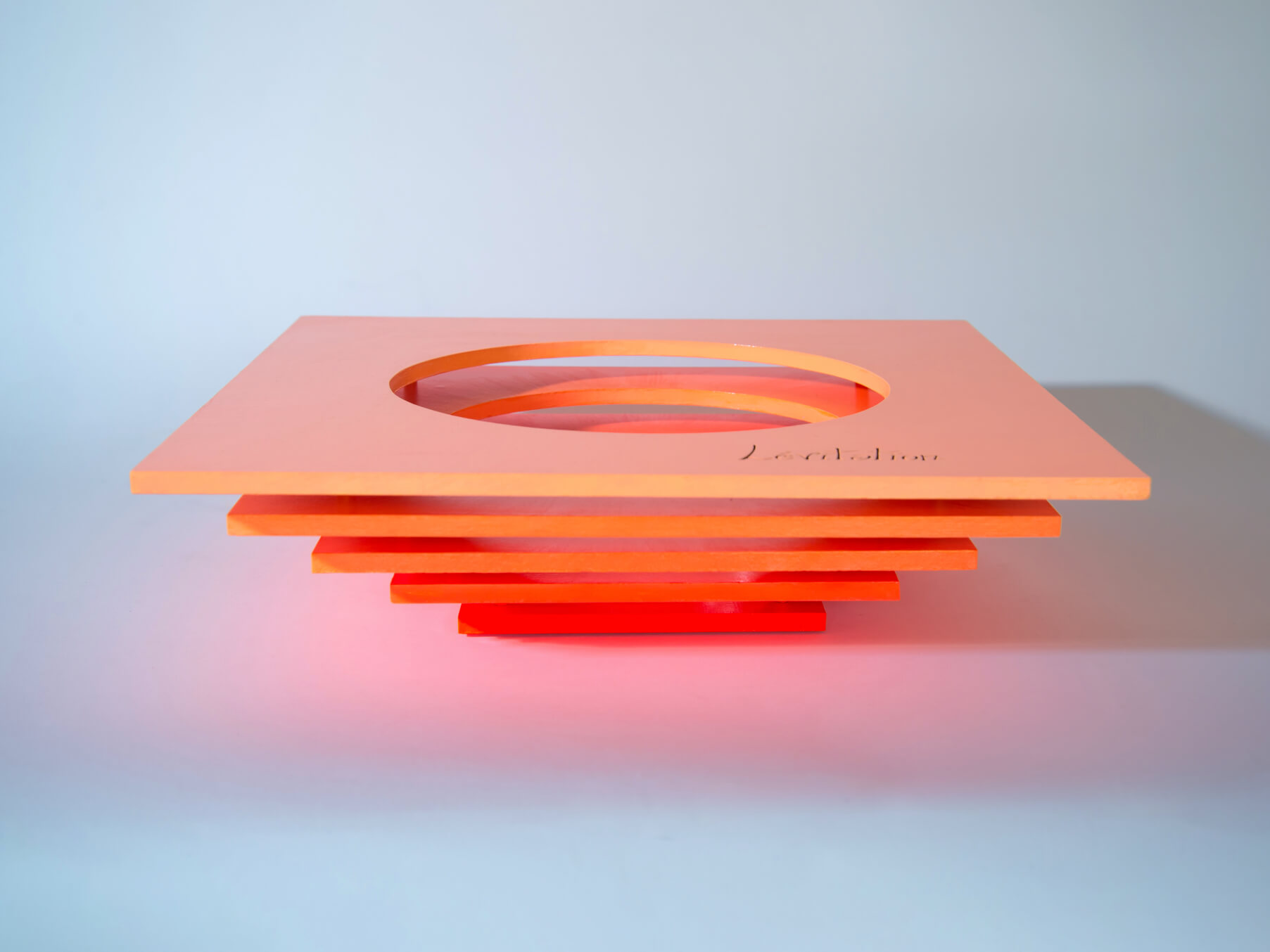 Sculptural Bowl 'Levitation' 42 cm/ 16.5 inch