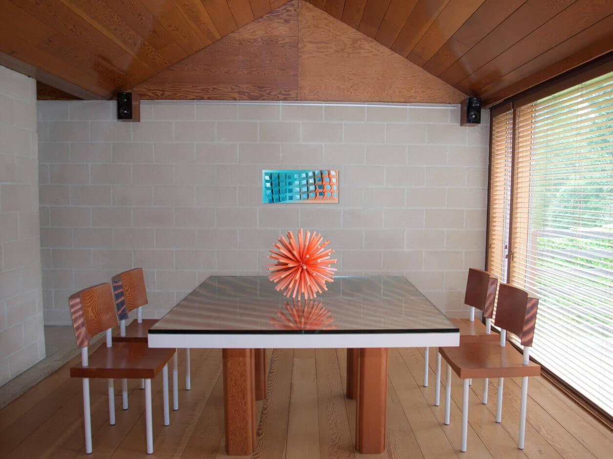 Perspective +sculpture fluosphère+matrix040