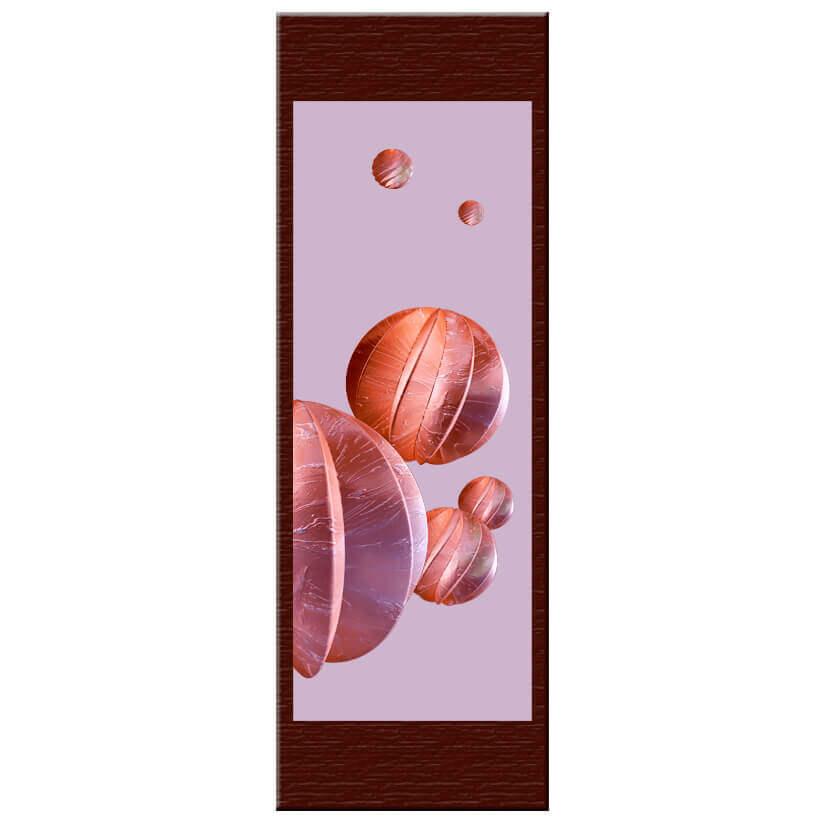 """Jouets fruités. Face2. Double sided. 29x84cm/11.4x33.1"""""""